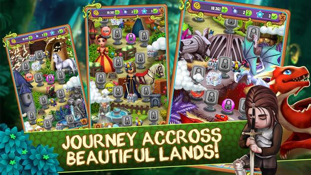 Mahjong Blitz - Land of Knights & Dragons screenshot 21
