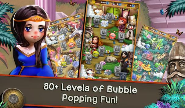Bubble Burst Quest: Epic Heroes & Legends screenshot 5