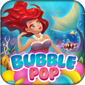 Bubble Pop Mermaids: Ocean Kingdom Adventure icon