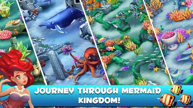 Bubble Pop Mermaids: Ocean Kingdom Adventure screenshot 8