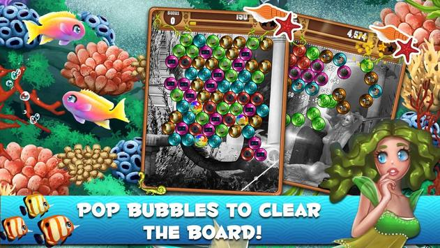 Bubble Pop Mermaids: Ocean Kingdom Adventure screenshot 1