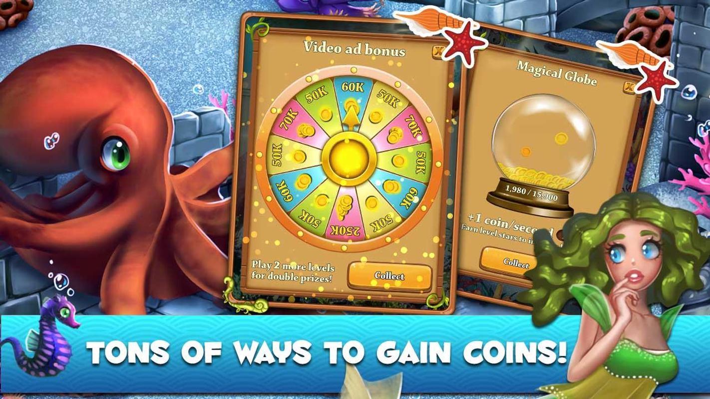 Bubble Pop Mermaids Ocean Kingdom Adventure For Android Apk Download Garena 50k 10