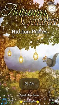 Hidden Pieces: Autumn Garden poster