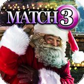 Match 3 - Finding Santa icon