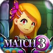 Match 3: Rapunzel icon