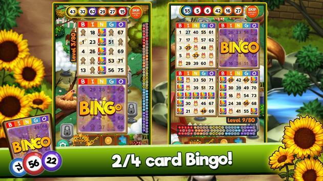 Bingo Quest Winter Wonderland Garden poster