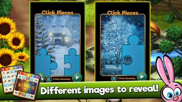 Bingo Quest Winter Wonderland Garden screenshot 8