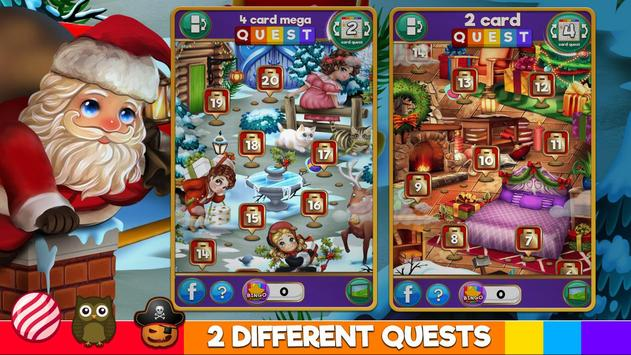 Bingo Xmas Holiday: Santa & Friends screenshot 14