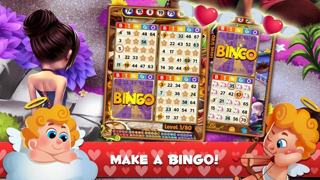 Cupid Bingo: Valentines Day Love Story screenshot 1