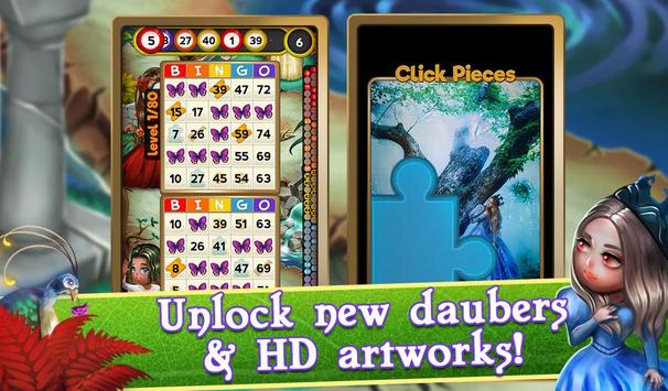 Bingo Magic Kingdom: Fairy Tale Story screenshot 11