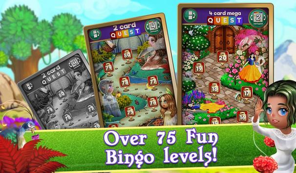 Bingo Magic Kingdom: Fairy Tale Story screenshot 12