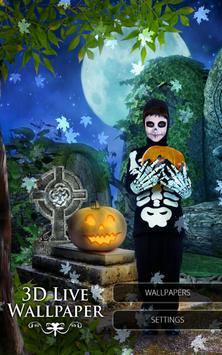 3D Wallpaper: Halloween Adventure apk screenshot