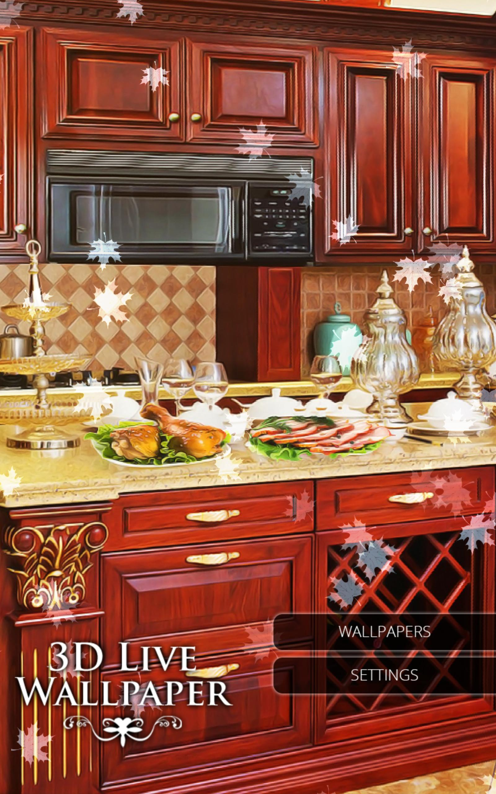 3d Wallpaper Home Kitchen For Android Apk Download