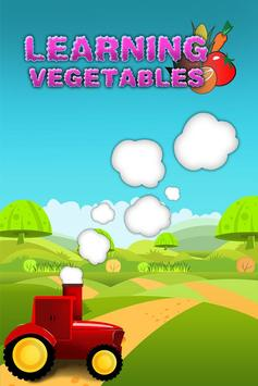 Learning Vegetables poster