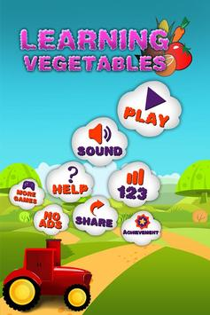Learning Vegetables screenshot 1