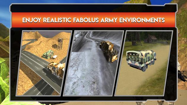 Army Cargo Truck Driver apk screenshot