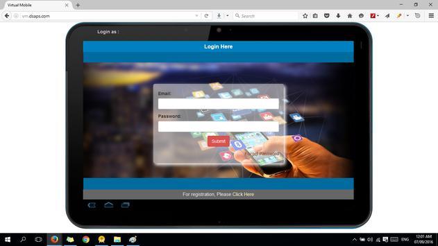 Virtual Mobile Control screenshot 1