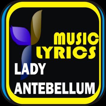 Lady Antebellum Music Lyrics poster