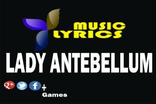 Lady Antebellum Music Lyrics apk screenshot