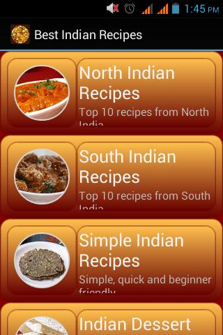 Best Indian Recipes poster