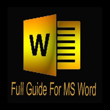 Full Guide For MS Word apk screenshot