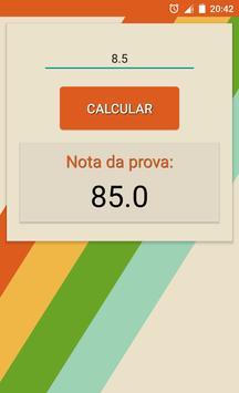 Calcular Notas apk screenshot