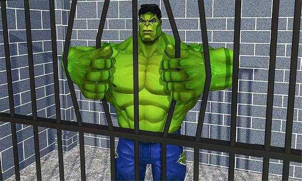 Incredible Monster hero:Super Prison Survival Game screenshot 5