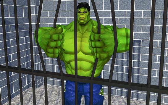 Incredible Monster hero:Super Prison Survival Game screenshot 11