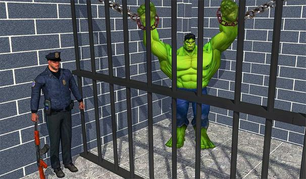 Incredible Monster hero:Super Prison Survival Game screenshot 12