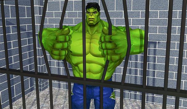 Incredible Monster hero:Super Prison Survival Game screenshot 17