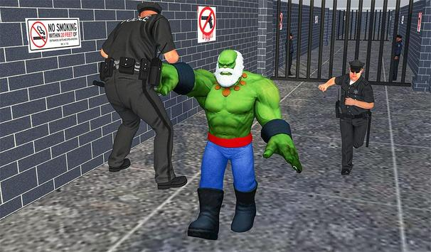 Incredible Monster hero:Super Prison Survival Game screenshot 14