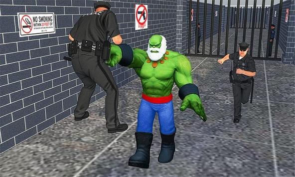 Incredible Monster hero:Super Prison Survival Game screenshot 2