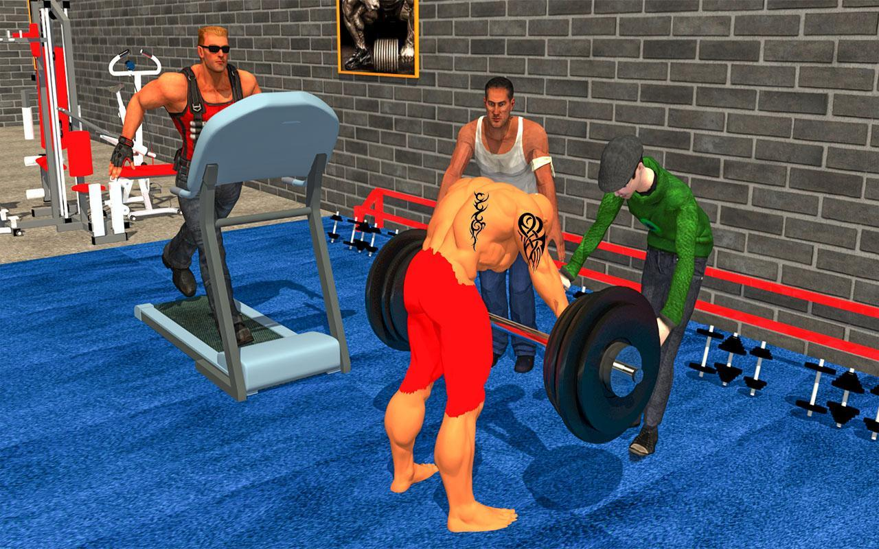 Virtual Gym Fitness Club:Body Builders Simulator for Android
