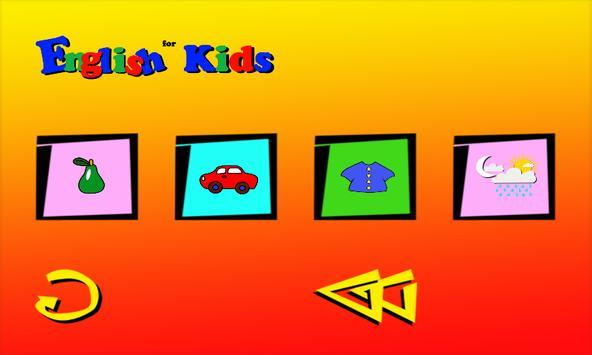 English For Kids screenshot 2