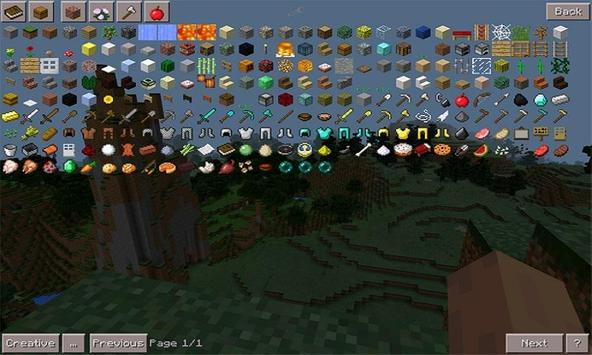 Mod Too Many Items for MCPE poster