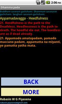 Dhammapada apk screenshot