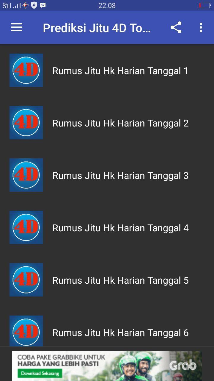 PREDIKSI HARIAN JITU TOGEL HK for Android - APK Download