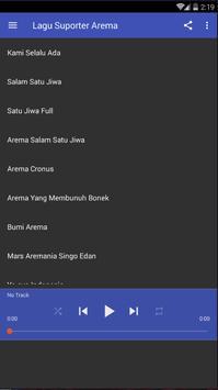 Aremania Suporter Indonesia poster