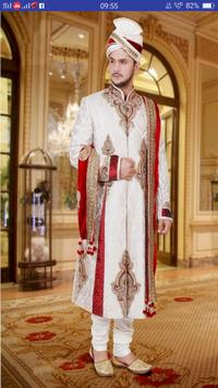 Dulha Shangar - Grooms Dress Shervani Groom Wear poster