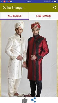 Dulha Shangar - Grooms Dress Shervani Groom Wear apk screenshot