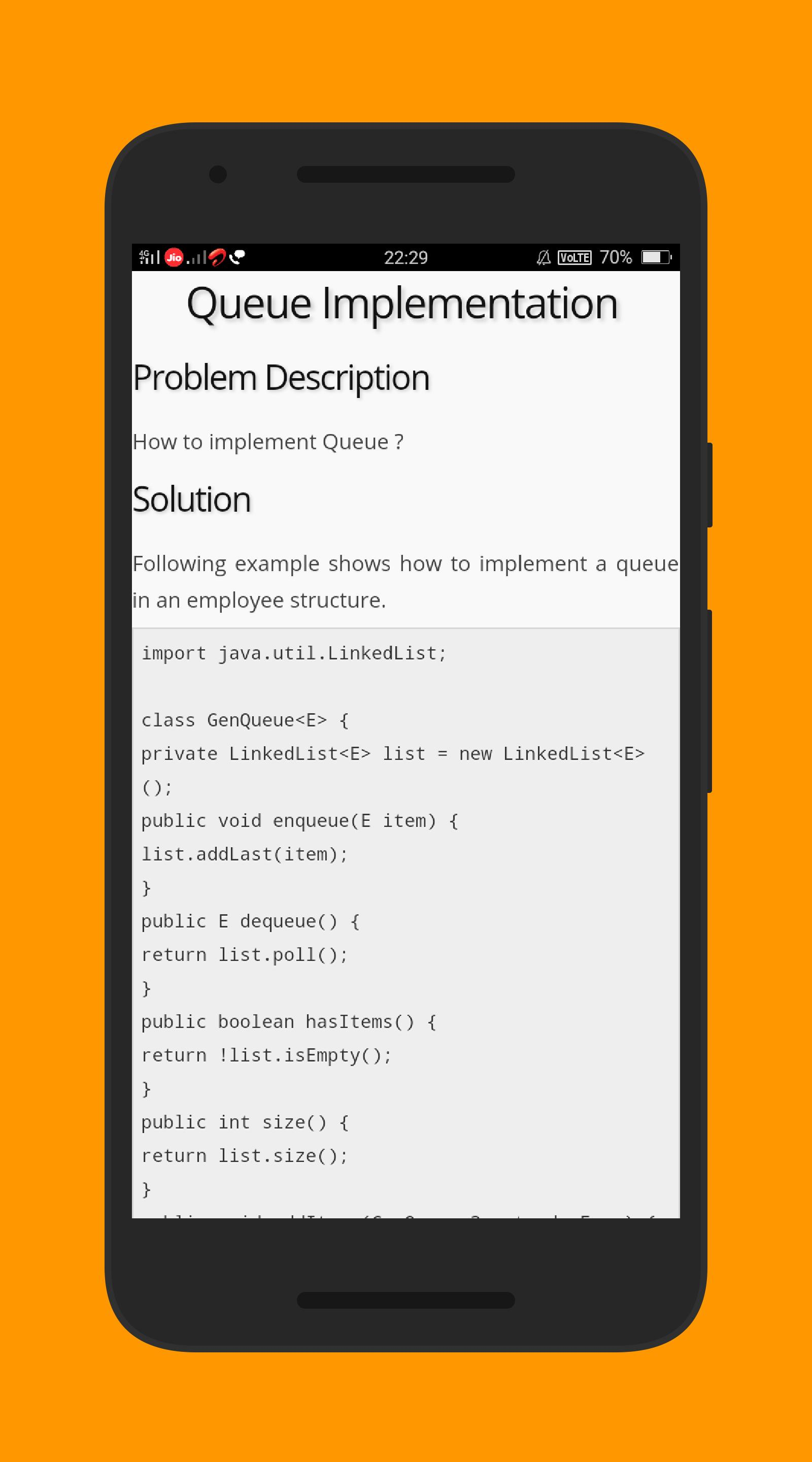 Learn JAVA Examples for Android - APK Download