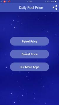 Petrol Diesel Price Daily Updated All India poster