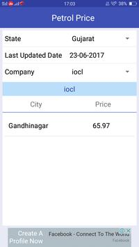 Petrol Diesel Price Daily Updated All India apk screenshot