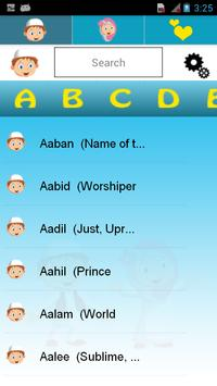 Name & Meaning for Muslim apk screenshot