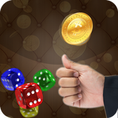 Coin Flip And Dice Roller icon