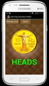 Coin Flip And Dice Roller screenshot 3