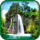 Insta waterfall Wallpaper icon