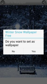 Winter Snow Wallpaper Free apk screenshot