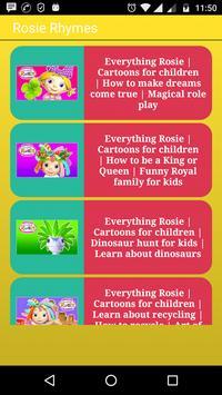 Rosie Rhymes poster