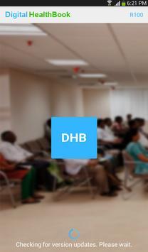 DHB Frontdesk poster